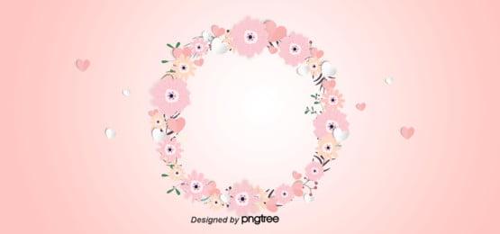 गुलाबी माँ के दिन तीन आयामी कटौती  कागज प्रभाव पृष्ठभूमि , Decoupage, दिल के आकार का, माँ का दिवस पृष्ठभूमि छवि
