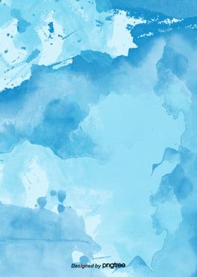Azul claro claro claro Salpicadura Tinta El Imagen De Fondo