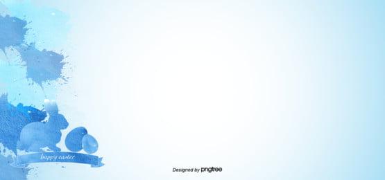 Синие чернильные чернила , кролик, графитовая точка, чернила Фоновый рисунок