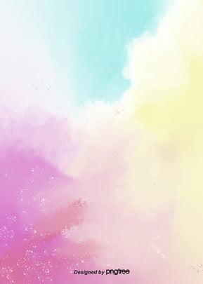 fantasia de conto de fadas de nuvens cor de fundo , As Crianças, Linda, Business Imagem de fundo