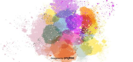 fundo cor   de   rosa cor de pulverização de pó , Cartoon, Linda, Splash Imagem de fundo