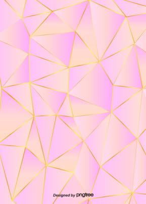 ピンクのシンプルなピンクの幾何学模様のグラデーションを背景に , 幾何学, ぜいたく, だんだん変わっていく 背景画像