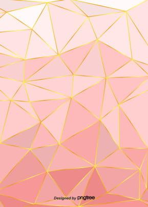 सरल ढाल गुलाबी गोल्डन किनारों पृष्ठभूमि , ज्यामिति, नॉर्डिक, ढाल पृष्ठभूमि छवि
