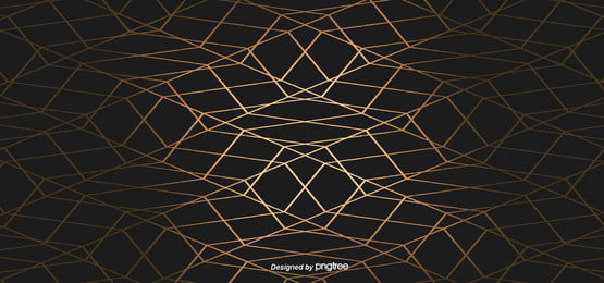 simple luxury business geometry black golden edge background , Geometric, Northern Europe, Pattern Background image