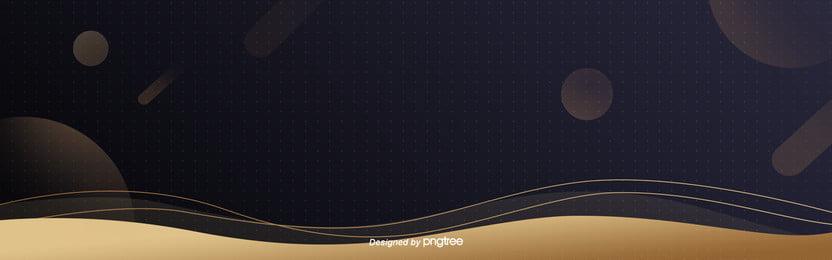 comércio de fundo de linhas geométricas simples e de luxo dourada , A Geometria, Nordic, Business Imagem de fundo