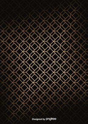 simple luxury geometry black golden edge background , Geometric, Northern Europe, Pattern Background image