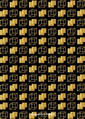 Abstract Brief Geometric Graphics Gold Border background Géométrie Creative Commerce Image De Fond