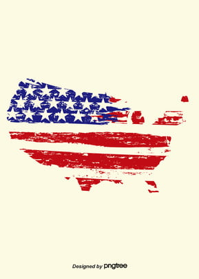 background of american flag in retro ink , Creative, Flag Background, Vintage Background image
