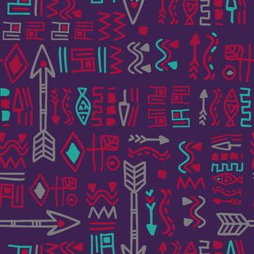 bộ tộc aztec pattern  màu tím  dệt may thời trang in ấn , Abstract, Người Mỹ., Cổ Xưa. Ảnh nền