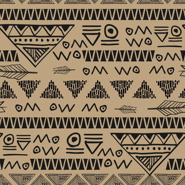 batik symbol ancient egyptian seamless pattern vector illustration , Triangle, Native, Design Background image