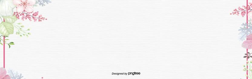 हाथ से पेंट वसंत फूल साधारण पृष्ठभूमि , वसंत, सुरुचिपूर्ण, सफेद पृष्ठभूमि छवि