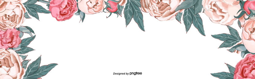 स्प्रिंग गुलाबी फूल साधारण पृष्ठभूमि , पत्ते, हाथ चित्रित, चित्रण पृष्ठभूमि छवि