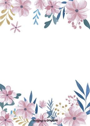 đơn giản là  hoa màu trắng nền bằng tay Lá Bằng Tay Hình Nền