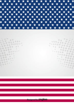 the creative background of red and blue american flag , Five-pointed Star, Creative, National Flag Background image