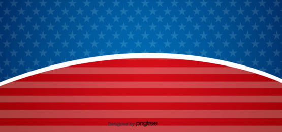 the creative background of american flag stitching in red and blue , Five-pointed Star, Creative, National Flag Background image