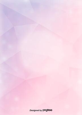 ピンクの多角形少女背景 , 多角形, 少女, 清新である 背景画像