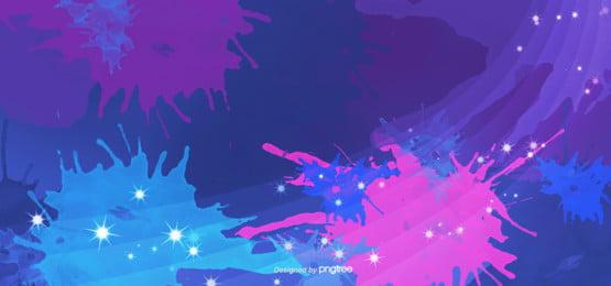 vầng hào quang màu xanh bằng tay vẩy mực vẽ minh họa cho nền , Vầng Hào Quang, Giấy Dán Tường, Những Ngôi Sao Ảnh nền