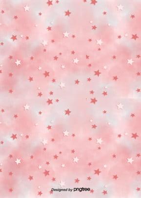 गुलाबी सितारों girly शैली पृष्ठभूमि , लड़कियों, सितारों, आकर्षक पृष्ठभूमि छवि