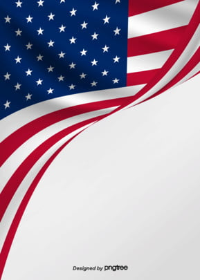 background of flying american flag