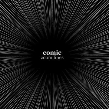 काले और सफेद हास्य की गति ज़ूम लाइन , काले, कार्टून, हास्य पृष्ठभूमि छवि