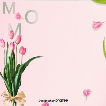 عيد الأم الزنبق الوردي خلفية الكهربائية , عيد الأم, خلفية عيد الأم, الأعمال الخلفية صور الخلفية