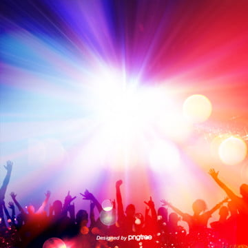o festival de música de fundo a silhueta de pessoas legais , Silhuetas, Gradiente, O Carnaval Imagem de fundo