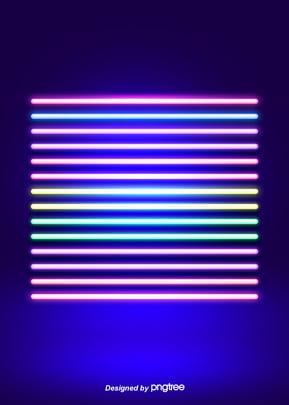 colored neon line background , Luminous Efficiency, Creative, Luminescence Background image