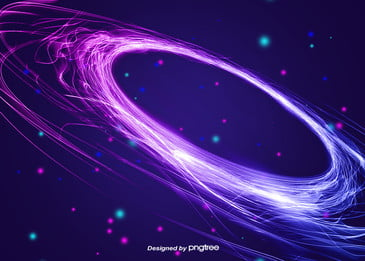 Blue-purple Gradual Creative Light Neon Background, Light, Creative, Gradient, Background image