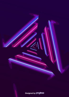 color neon lighting effect background , Triangle, Luminous Efficiency, Light Background image