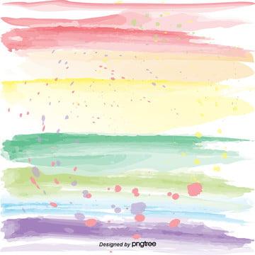 彩虹漸進濺效果的創作背景 , 創意, 彩虹色, 水彩 背景圖片