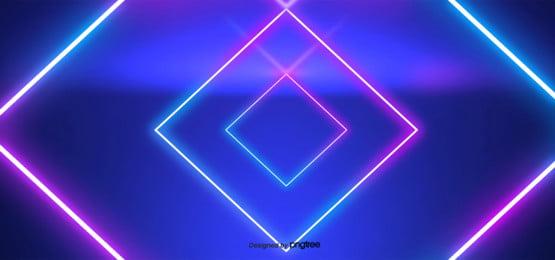 gradiente de fundo de linhas de neon , O Efeito De Luz, A Luz, Padrões Geométricos Imagem de fundo