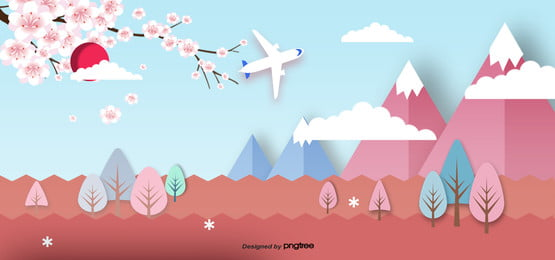 3 d立体日本ランドマーク建築用ペーパーカッター , 切り紙風, 地印建築, 富士山 背景画像