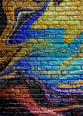 art ink graffiti brick wall background , Pattern, Abstract, Printing Ink Background image