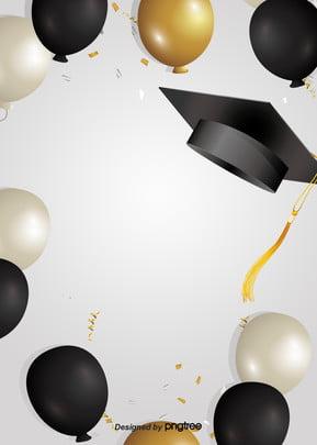 न्यूनतम शैली स्नातक टोपी की पृष्ठभूमि , छात्र, रंगीन रिबन, स्नातक स्तर की पढ़ाई पृष्ठभूमि छवि