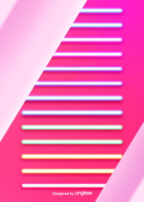 abstract and simple colored neon tube patterns background , Luminous Efficiency, Geometric, Creative Background image
