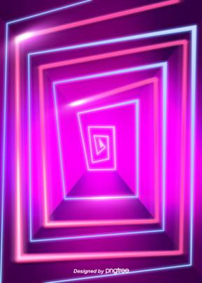 抽象空間彩色霓虹燈光圖案背景 , 光效, 幾何, 創意 背景圖片