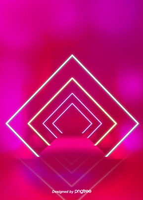 the background of neon tube pattern in color space , Luminous Efficiency, Geometric, Creative Background image