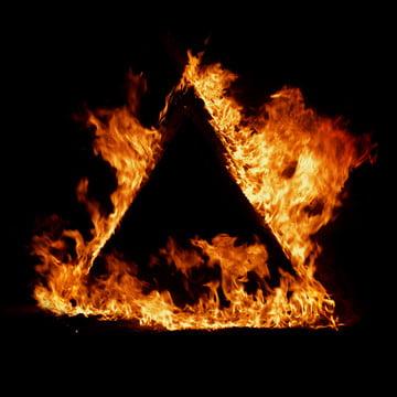 三角砲火 , 背景, クリップアート, 火 背景画像