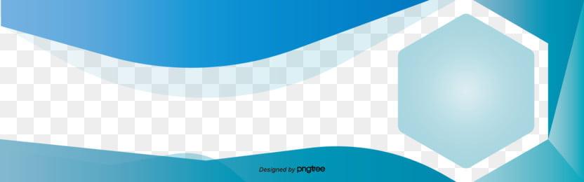 青い動感幾何学banner , Buner, 幾何学, 横条 背景画像