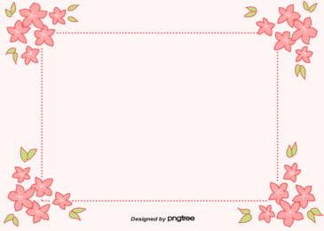 美しい花の対角線を描き、母の日の背景に, 花の縁, 葉の葉, 円点線 背景画像