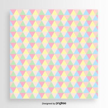 粉彩図柄の壁紙 , 三角形, 幾何学, かわいい 背景画像