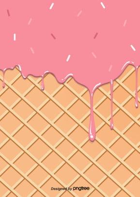 गुलाबी चॉकलेट आइसक्रीम प्रवाह पृष्ठभूमि , आइसक्रीम, रचनात्मक, चॉकलेट पृष्ठभूमि छवि