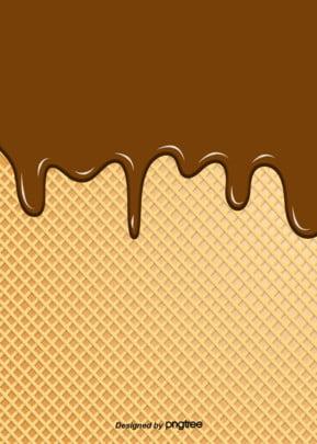 सरल चॉकलेट आइसक्रीम प्रवाह पृष्ठभूमि , आइसक्रीम, रचनात्मक, चॉकलेट पृष्ठभूमि छवि