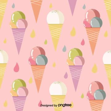 रंग आइसक्रीम तत्वों पृष्ठभूमि , आइसक्रीम, सुंदर, गर्मियों में पृष्ठभूमि छवि