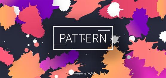 रंग छप स्याही तीन आयामी अमूर्त कला पृष्ठभूमि , रंग, सार, Pomo पृष्ठभूमि छवि