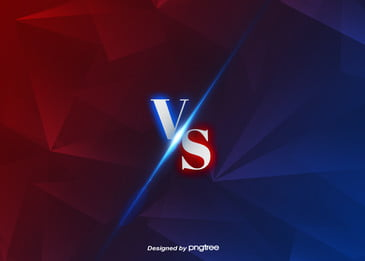 red blue polygon vs background, Vs, Vs Background, Luminescence Background image