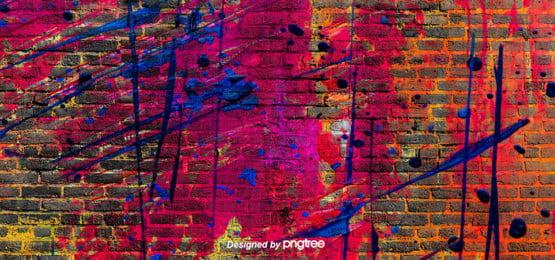 a graffiti background , Pintura De Parede, Estilo Ocidental, Graffiti Imagem de fundo