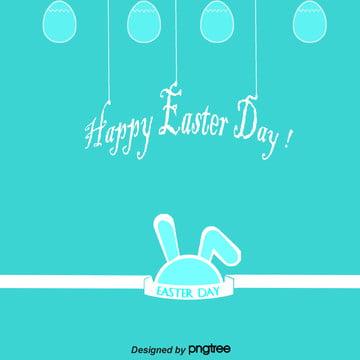 線性復活節背景 , 復活節, 小兔子, 彩蛋 背景圖片