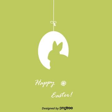 線性復活節背景 , 兔子, 卡通, 可愛 背景圖片