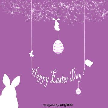 星空線性復活節 , 兔子, 可愛, 復活節 背景圖片